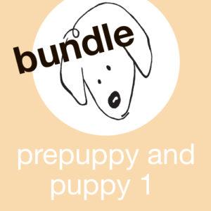 Prepuppy and Puppy 1